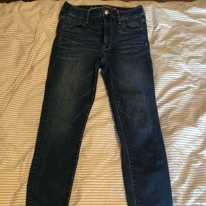 Dark Wash American Eagle Jeans (Size 2)